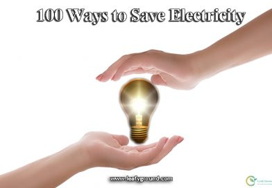 100 ways to save electricity