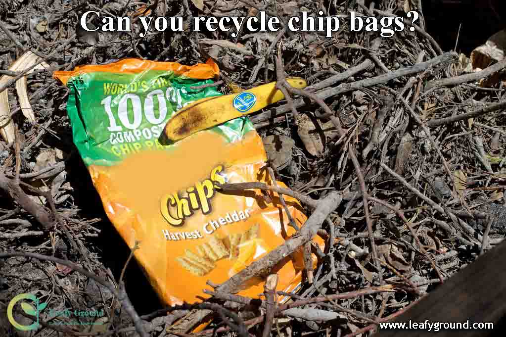Can you recycle chip bags?